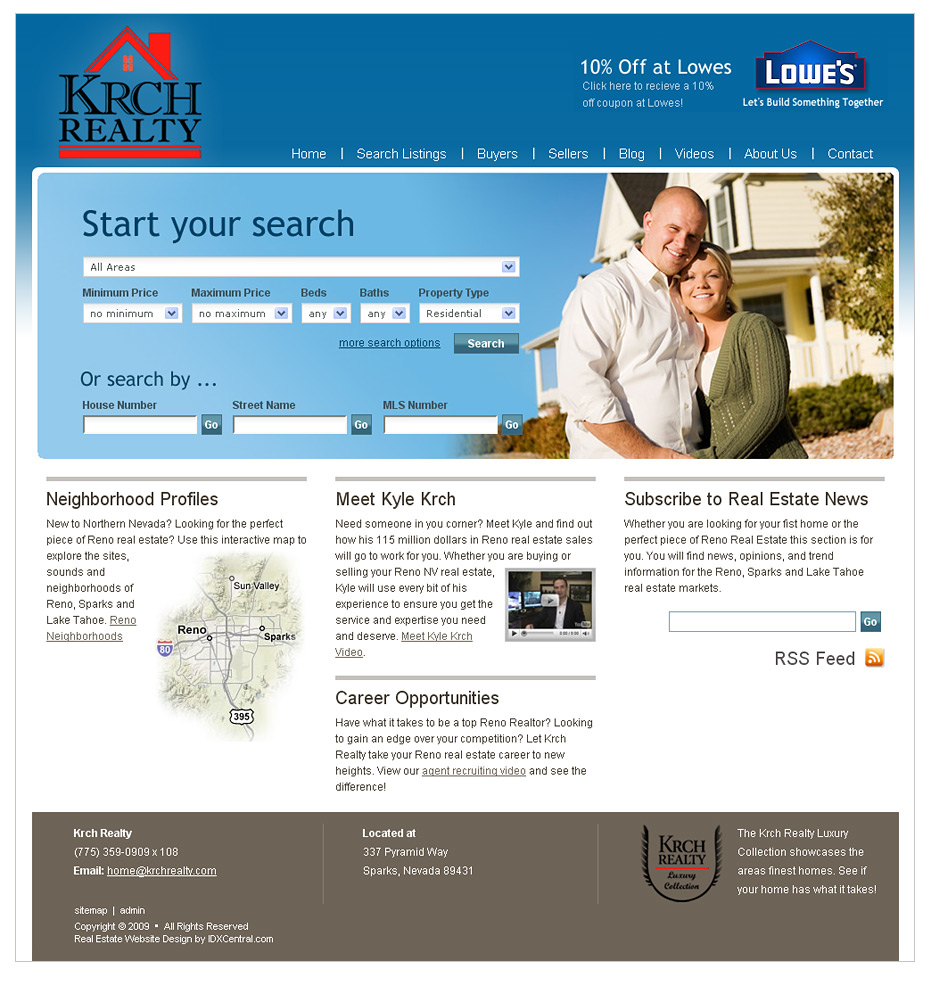 Western Realty Templates Dreamweaver Exit Realty Rolla