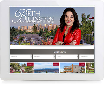 wordpress real estate design - portfolio - Beth Billington