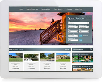 wordpress real estate design - portfolio - Peter Brennan