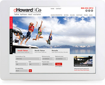 wordpress real estate design - portfolio - Deb Howard & Co.