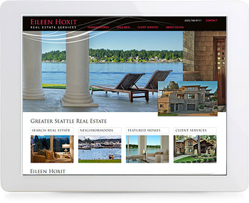 wordpress real estate design - portfolio - Eileen Hoxit Real Estate Services