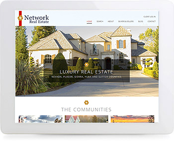 wordpress real estate design - portfolio - Network Real Estate