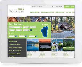 wordpress real estate design - portfolio - Dirk Skillicorn