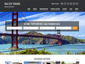 WordPress Real Estate Website Design Portfolio, Semi-Custom ...