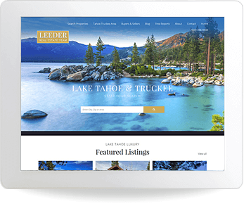 real estate website example - Bill Leeder