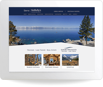 real estate website example - Sotheby's Realty, Greg Boyle