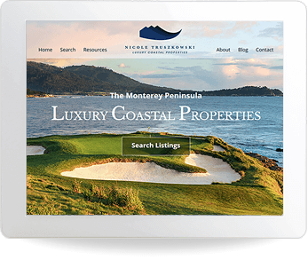 real estate website example - Sotheby's, Nicole Truszkowski