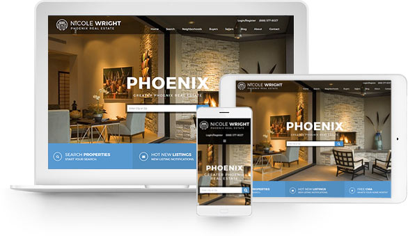 wordpress real estate theme - phoenix semi custom