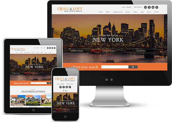 wordpress real estate design - portfolio - Limited Edition