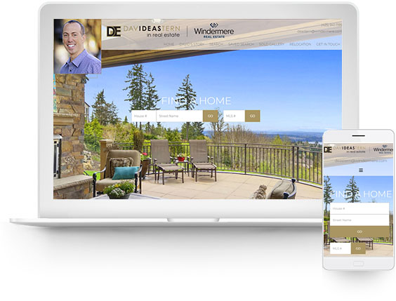 wordpress real estate design - portfolio - David Eastern