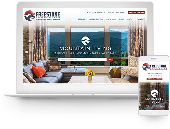 wordpress real estate design - portfolio - Scott Russell