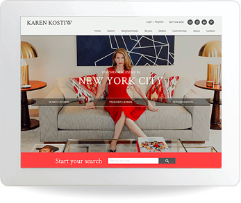 real estate website example - Karen Kostiw